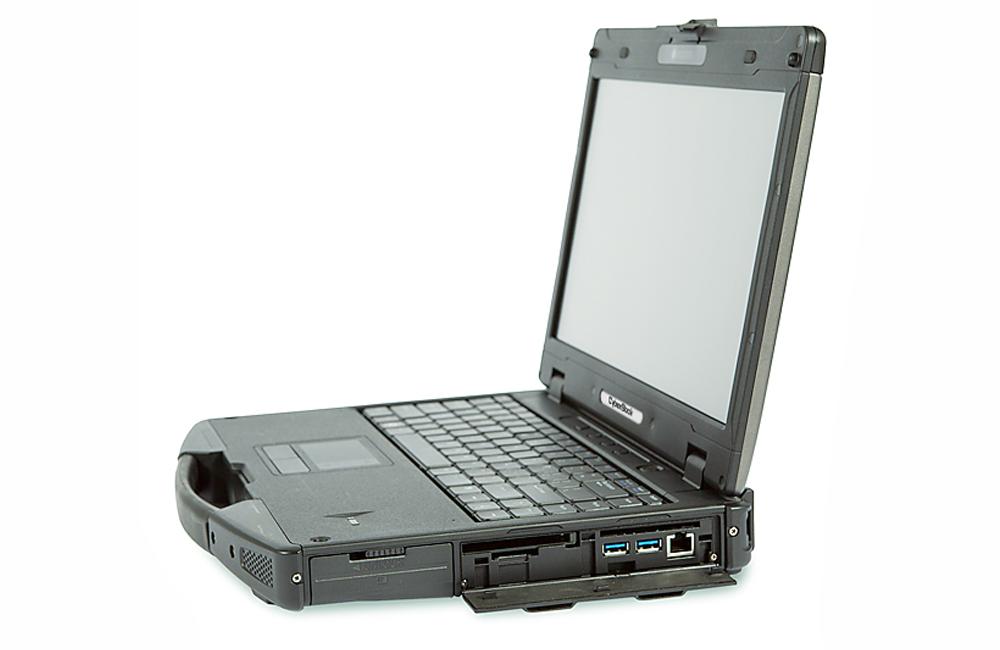 Обзор защищенного ноутбука CyberBook S874